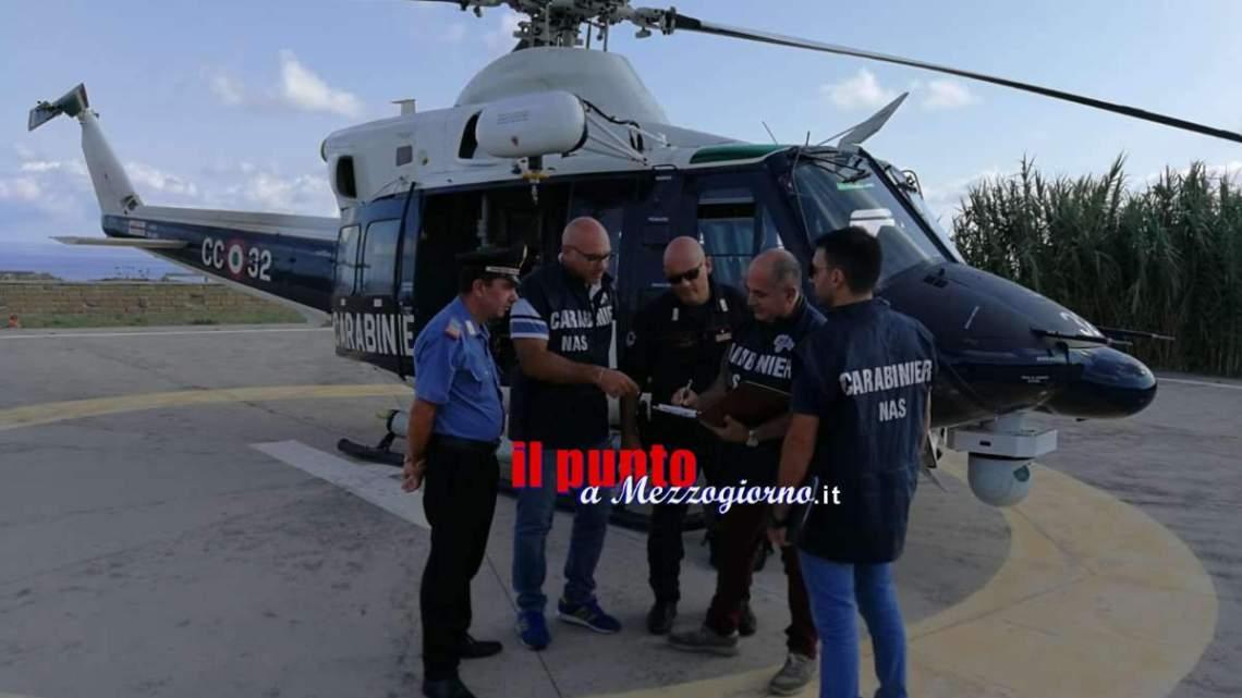 Ventotene; il Nas chiude alcune attività di ristorazione, multati i titolari e sequestrate merci per 50mila euro