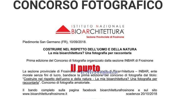 Concorso fotografico di Bioarchitettura a cura di Inbar. Scadenza bando 20 ottobre