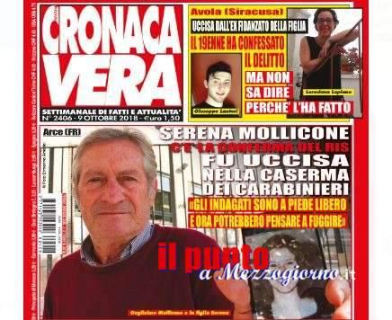 Lo sfogo di Guglielmo Mollicone sulla copertina di Cronaca Vera