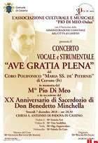 Concerto in ricordo del M° Pio Di Meo alla chiesa di S. Antonio