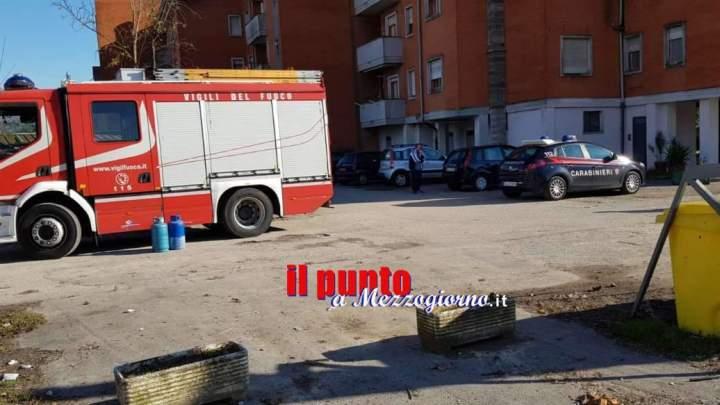 Ai domiciliari a Cassino, 45enne si chiude in casa e minaccia di farla esplodere con il gas