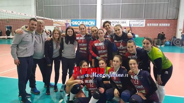 Volley Serie C. La Intent Sport ribalta le sorti nel derby col Labico