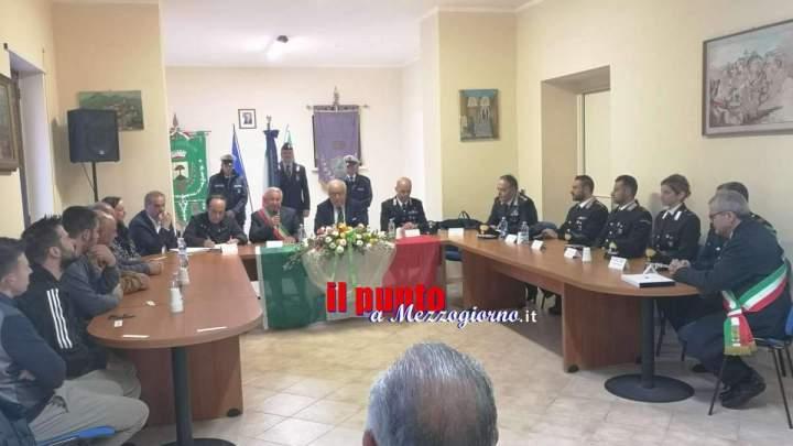 Encomio solenne al carabiniere che salvò la bambina nel centro commerciale a Cassino
