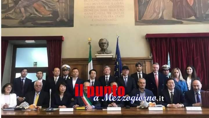 Scambio culturale fra Comune di Cassino e Università con una delegazione della città cinese di  Quzhou