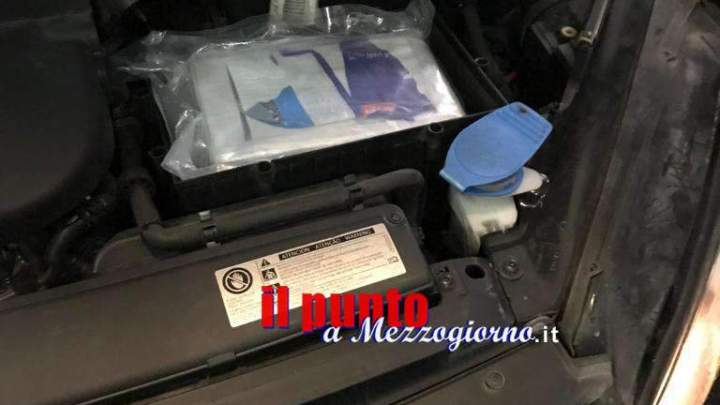 Meccanico con il vizio dei grandi quantitativi, 60enne di Anagni arrestato con 1 kg di cocaina