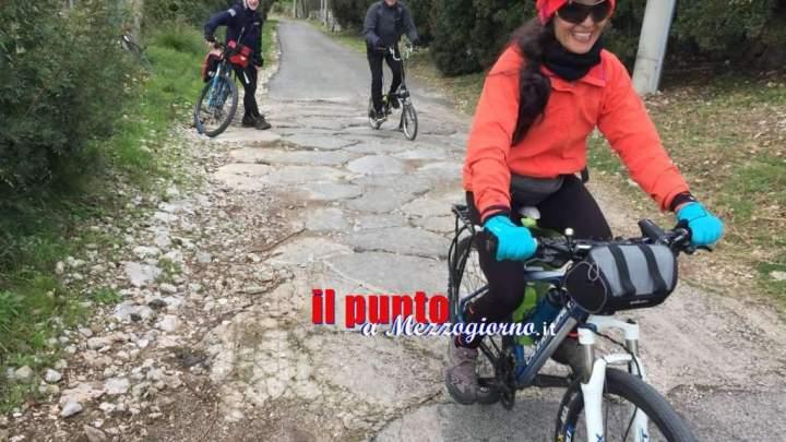 Da Roma a Brindisi in bicicletta percorrendo l'Appia