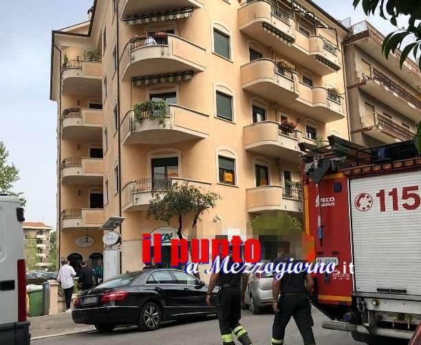 Cassino, anziano cade in casa, salvato dai VV.FF e 118