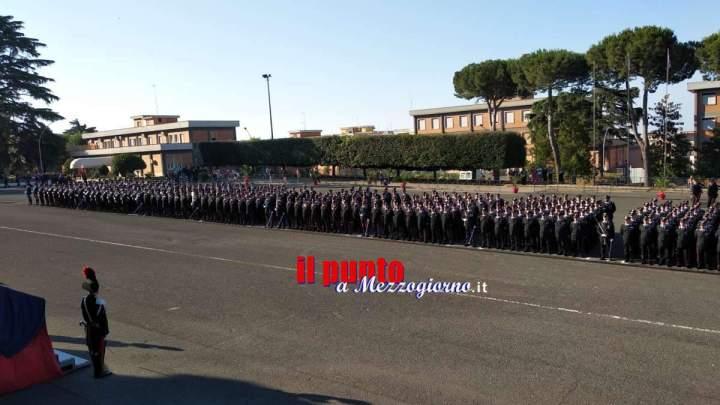 FOTO e VIDEO – La scuola carabinieri di Velletri forma 655 nuovi marescialli dell'Arma