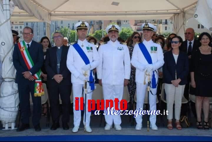 Gaeta: cambio al vertice della Guardia Costiera. Il comandante Vaiardi cede l'incarico al capitano di fregata Giorgi