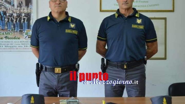 Droga per la movida Cassinate, arrestati due pusher di 31 e 34 anni