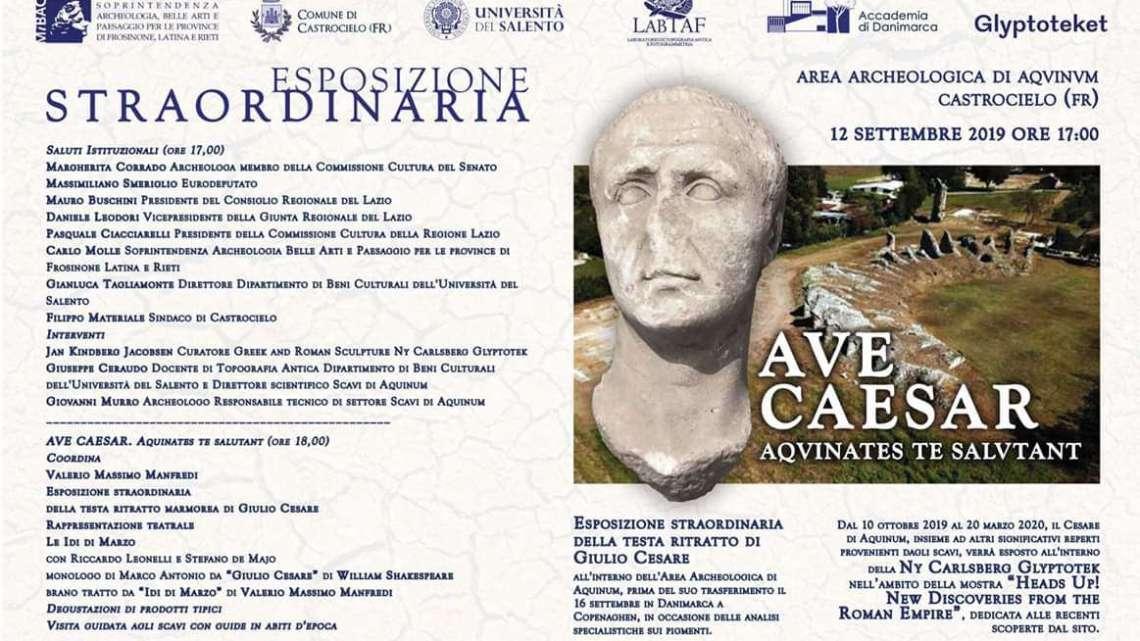 """Ad Aquinum """"Ave Caesar Aquinates te salutant"""""""