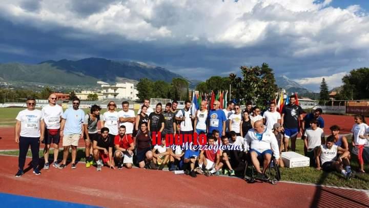 """Cassino; successo al """"VII Mennea Day""""  festa dello sport e di campioni"""