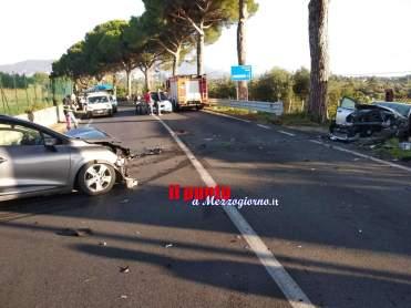 Incidente via Appia a Velletri
