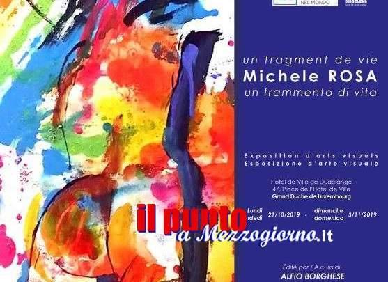 Ventotto tele dell'artista Sorano Michele Rosa esposte in Lussemburgo