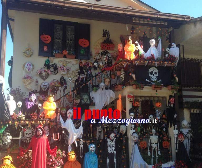 Cassino, anche quest'anno i mostri di Halloween si ritrovano a casa Pallucci