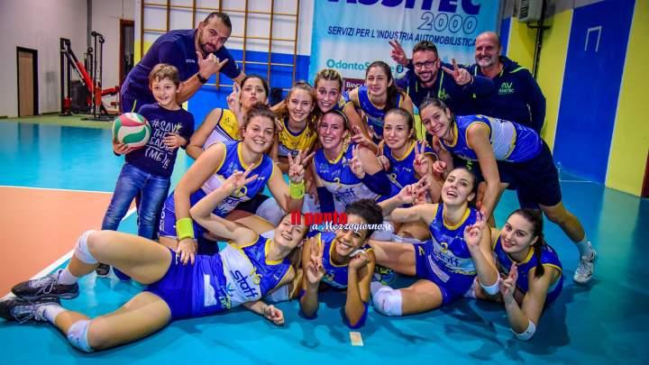 Volley Sant'Elia, prima vittoria stagionale per l'Assitec