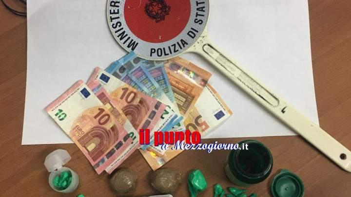 Era ai domiciliari ma aveva a casa a Frosinone cocaina e soldi, arrestato albanese