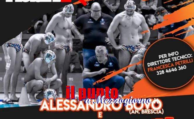 Alessandro Bovo medaglia d'oro della pallanuoto al workshop del Matrix di Genzano