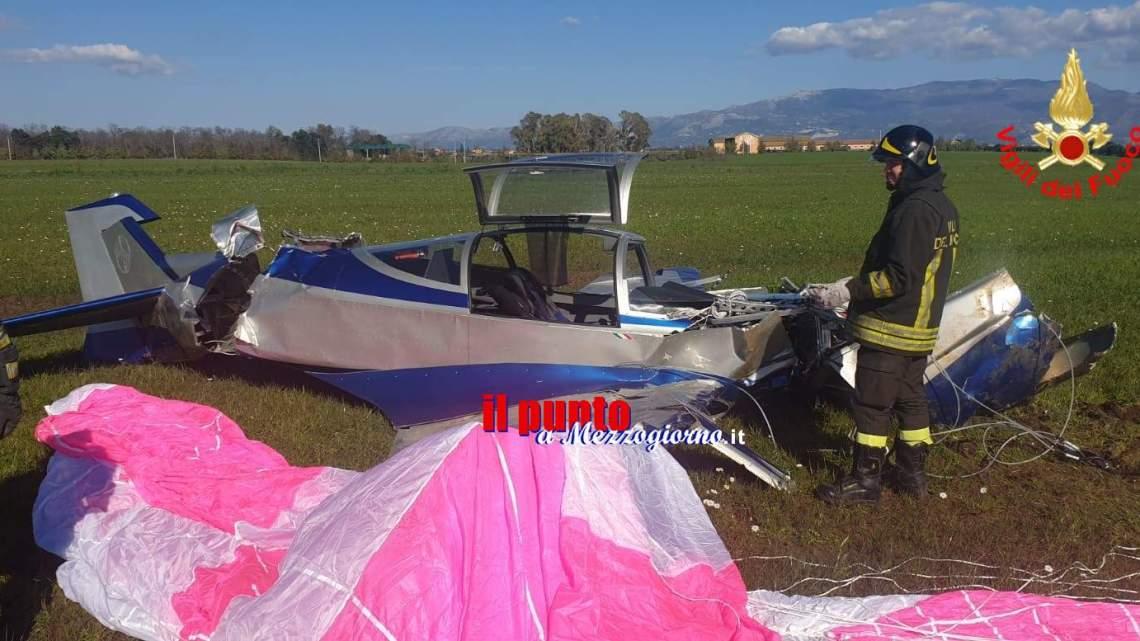 Precipita aereo ultraleggero a Cisterna di Latina, ferite due persone