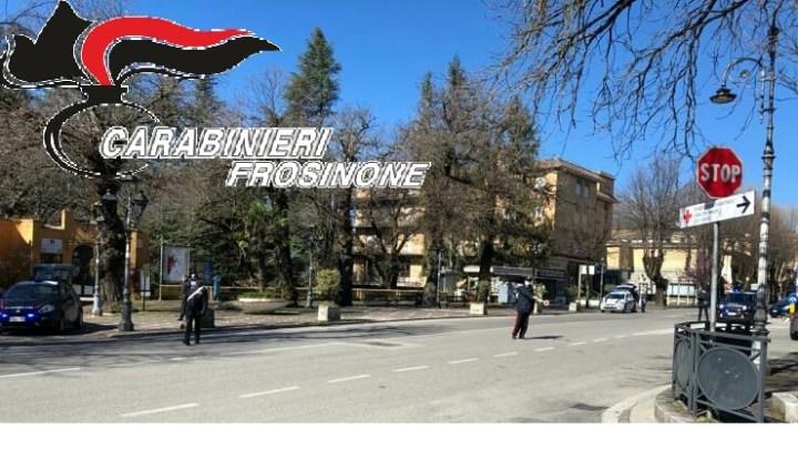 Non rispetta il decreto anticovid-19, carabinieri chiudono un bar a Cassino