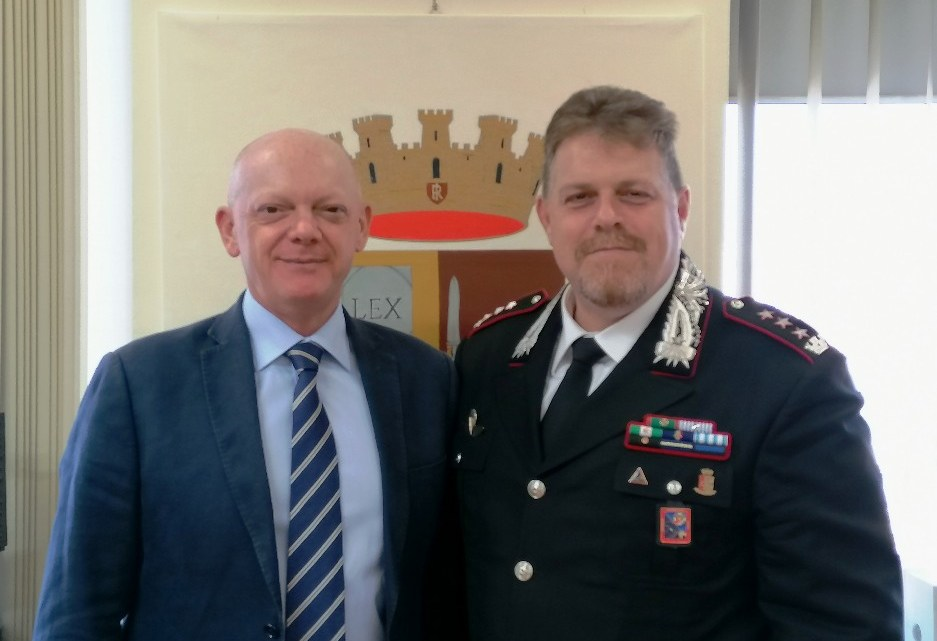 Frosinone – Il nuovo Comandante Provinciale dell'Arma dei Carabinieri in visita in Questura