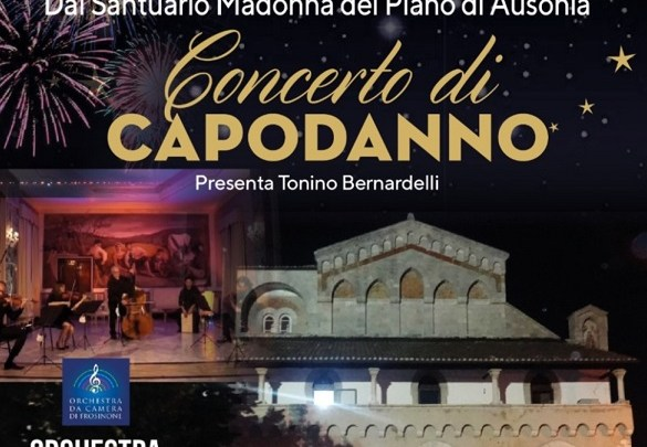 Il 2021 inizia con il Concerto della Provincia al Santuario della Madonna del Piano di Ausonia
