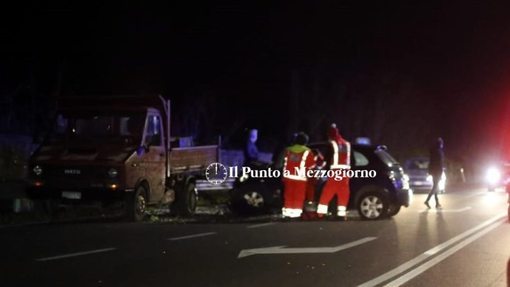 Grave incidente stradale a Macchia d'Isernia, un morto