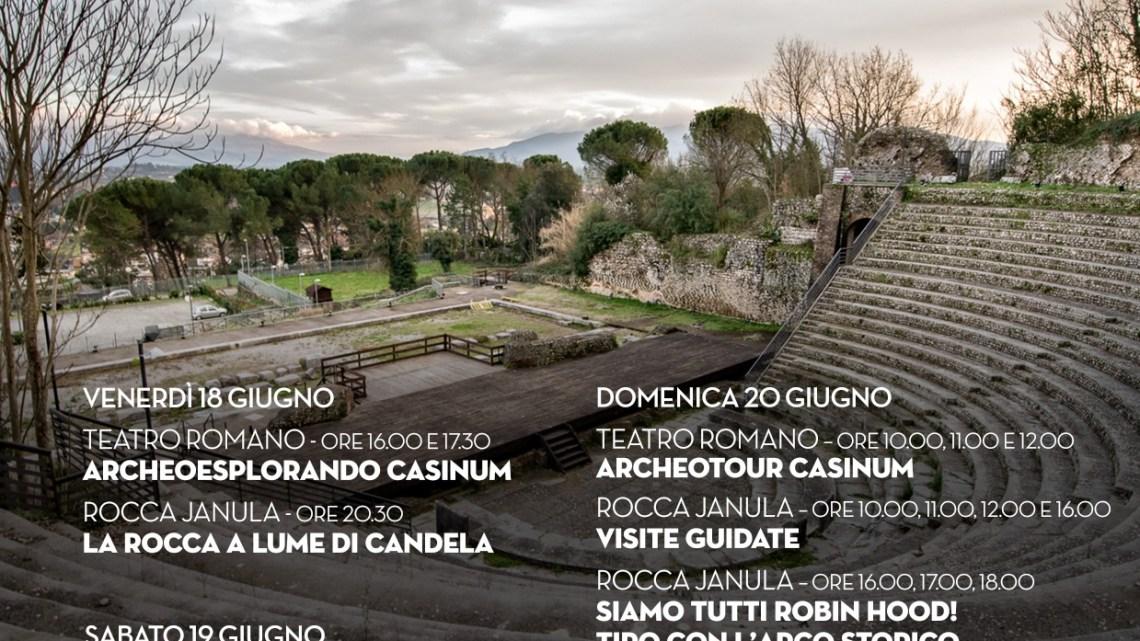 """Grossi: """"A Cassino le giornate europee dell'archeologia"""""""