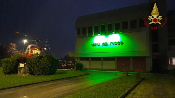 """""""Giornata Mondiale della PANDAS/PANS"""", i Vigili del fuoco di Frosinone partecipano alla campagna di sensibilizzazione"""