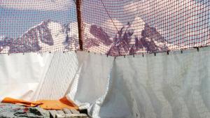 Scorcio delle alpi svizzere