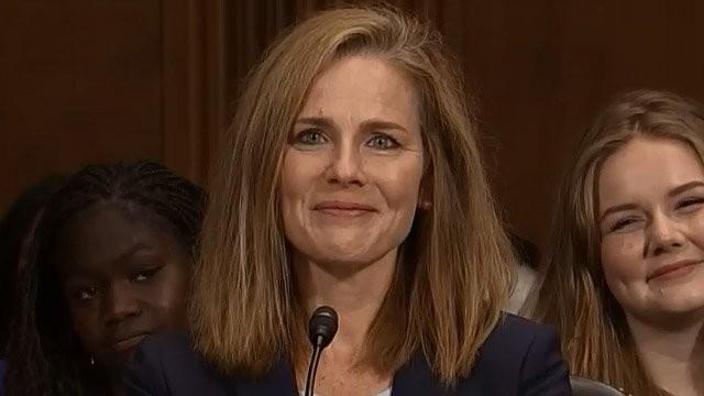 La giudice Amy Coney Barrett