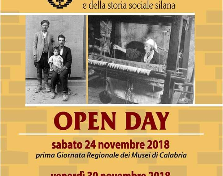 anche il 30 novembre museo demologico aperto
