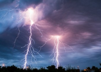 clouds and thunder lightnings and storm; Shutterstock ID 123174094; PO: website; Job: hillary Leo; Client: web