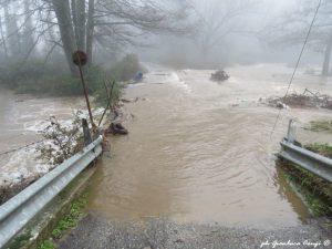 Straripamento del fiume Arvo - ph Gianluca Congi