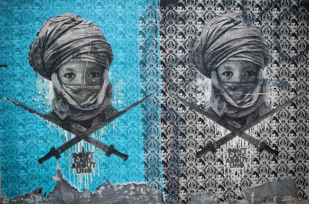 La street art di Uno a Milano quartiere Isola - I Don't Care About Uno