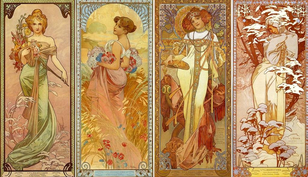 Mucha e l'Art Nouveau