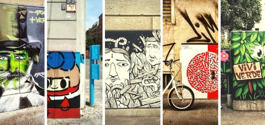 Energy box a Milano: la street art dei semafori