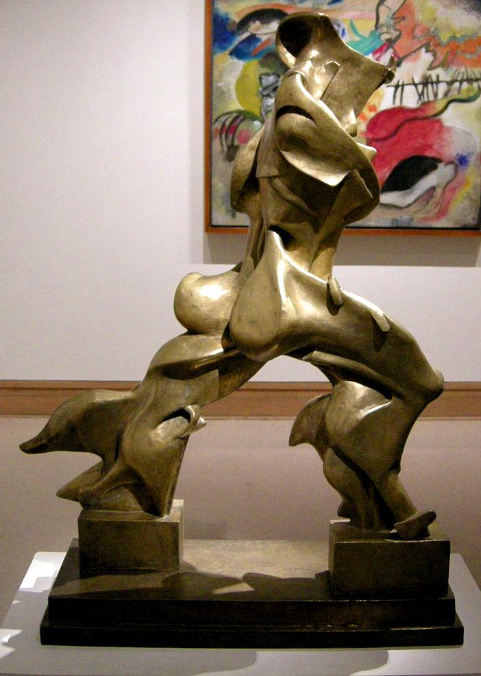 Forme uniche della continuità nello spazio (1913) - Umberto Boccioni