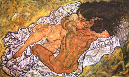 Schiele - L'abbraccio