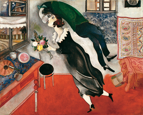 Chagall - Compleanno