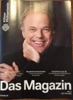 Aktuelle Ausgabe Magazin Kölner Philharmonie
