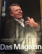 Ausgabe 01/2016 Magazin der Kölner Philharmonie
