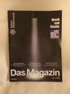 Anzeige Magazin Kölner Philharmonie