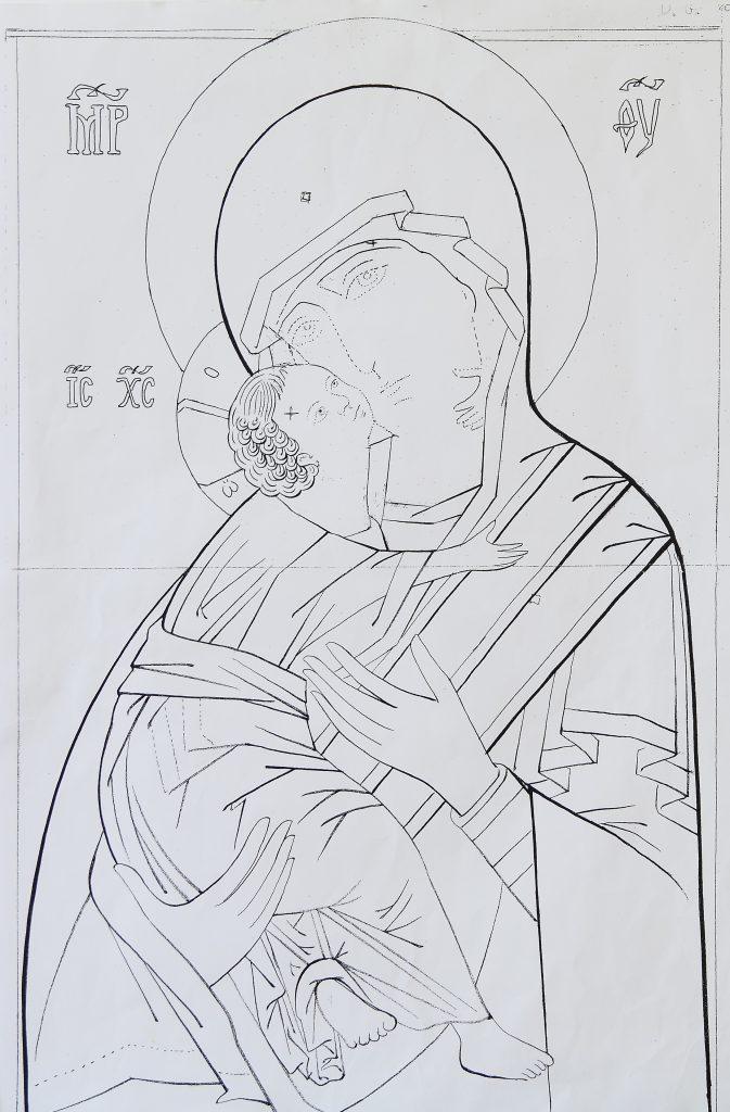 Madonna di Vladimir (scuola bizantina XII secolo)