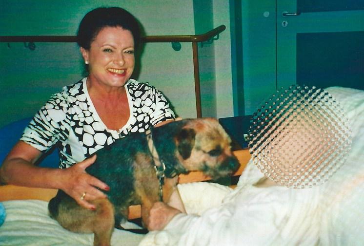 Ehrenamtliche Tätigkeit mit Therapiehund Chester im Landespflegeheim in Zwettl NÖ