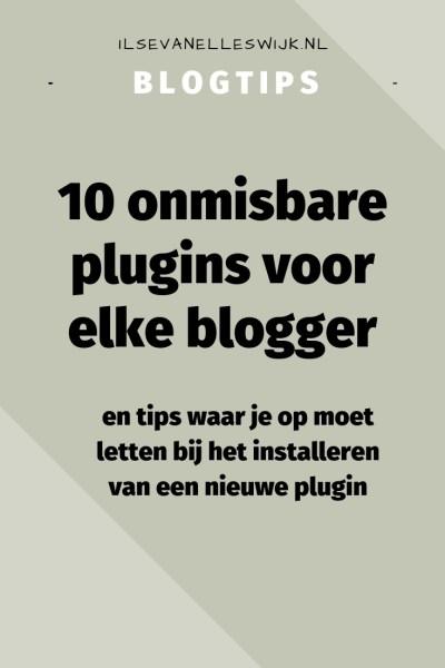 onmisbare plugins voor bloggers bloggen en tips waar op te letten installeren nieuwe plugin wordpress