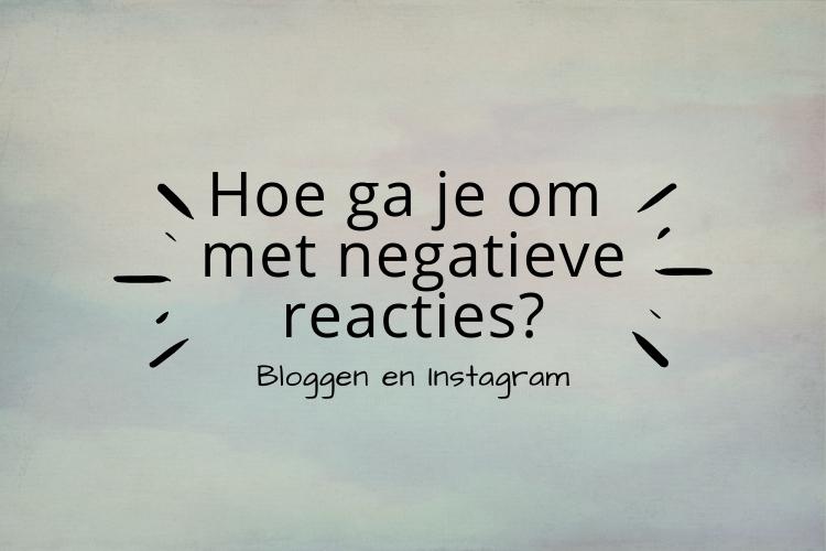 hoe ga je online om met negatieve reacties?