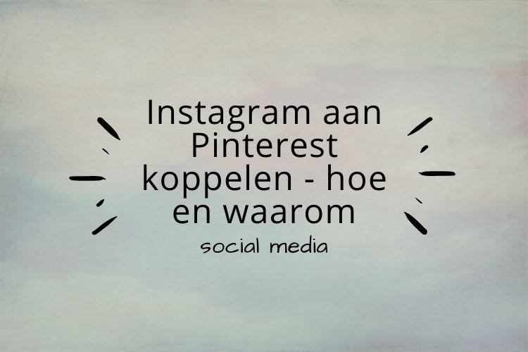 Instagram claimen op Pinterest