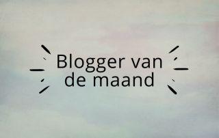 blogger van de maand