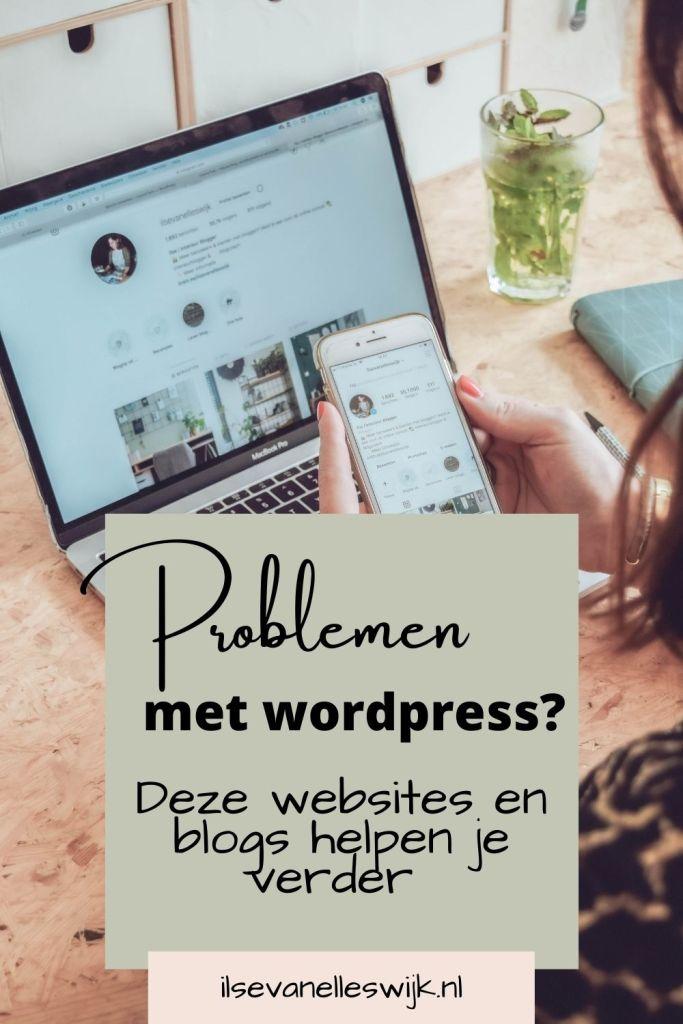 problemen met wordpress oplossen